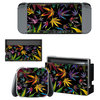 Nintendo Switch Folie-Sticker Weed Psychedelic 534