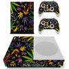 Xbox One S Folie-Sticker Weed Psychedelic 545