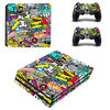 PS4 Pro Folie-Sticker Sticker Bomb 578